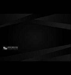 abstract tech design gradient black design vector image
