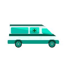 Ambulance car isolated vector