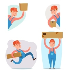 Cargo Freight Box Loading Delivery Shipment Loader vector