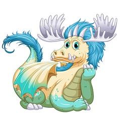 Dragon vector image
