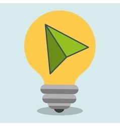 idea cursor icon vector image