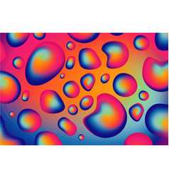 Liquid drops particles dynamic flow trendy vector