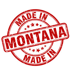 Made in montana vector