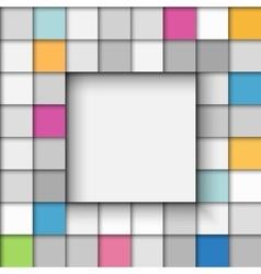 Paper banner background vector