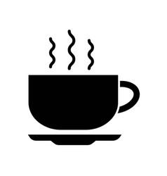 tea cup icon icon simple element tea cup symbol vector image