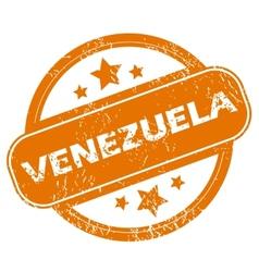 Venezuela grunge icon vector image