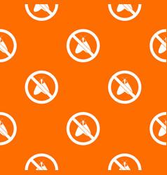 no moth sign pattern seamless vector image vector image