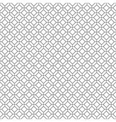 Simple seamless diamond pattern vector image vector image