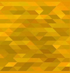 abstract yellow triangle background vector image