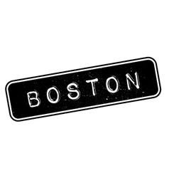 Boston rubber stamp vector