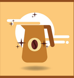 coffee time image vector image