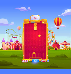 mobile game app background application interface vector image