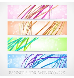 Banners for web collection15 vector image