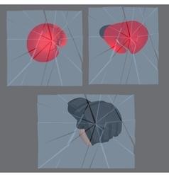 mma boving gloves vector image