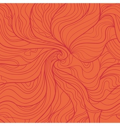 Abstract whirlpool seamless pattern in red tints vector image vector image