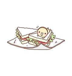 A sandwich vector