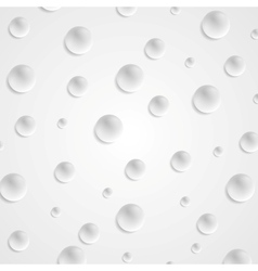 Abstract light grey circle balls background vector