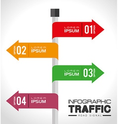 Advertising design vector image