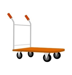 Cargo Cart Icon vector