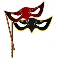 carnivals mask vector image vector image
