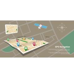 gps 2 vector image