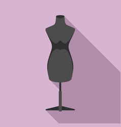 Mannequin icon flat style vector