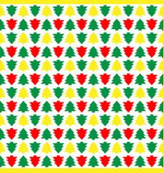 Seamless christmas tree christmas colorful new vector