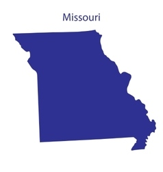 United States Missouri vector image vector image