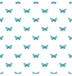 unusual butterfly pattern seamless vector image