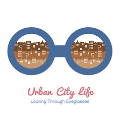 Urban City Life vector