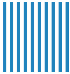 Vertical blue and white stripes seamless vector