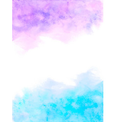 watercolor blue abstract background abstract vector image