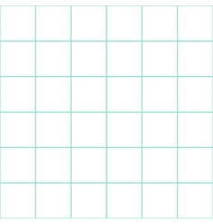 Mint green grid white background vector