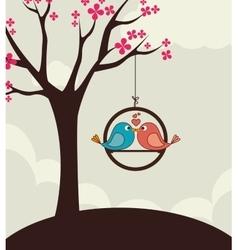 Love card design eps 10 vector image