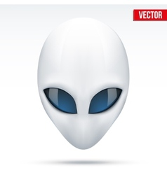 Alien head creature from another world vector image