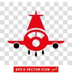Cargo Plane Eps Icon vector image