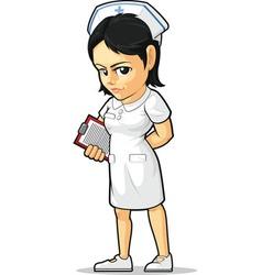 Cartoon nurse vector