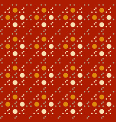 Circular uneven seamless pattern vector