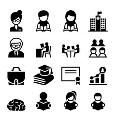 learning education icon vector image