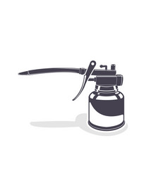 oiler monochrome style vector image