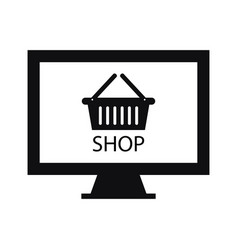 Online shop vector
