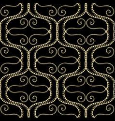 wave lines elegance greek seamless pattern vector image