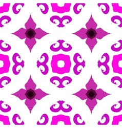 ethnic pattern with Indian motifs vector image