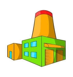 Brewery icon cartoon style vector