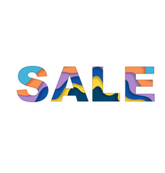 sale text background vector image vector image