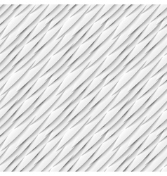 Seamless pattern of white paper elements with drop vector image