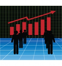 stockmarket vector image vector image