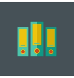 Archive Flat Icon vector
