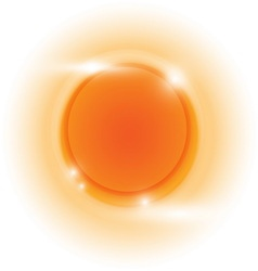 Design orange glow circle abstract background vector