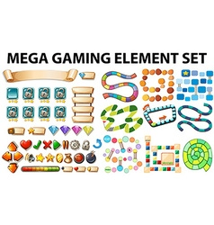Game elements and template vector
